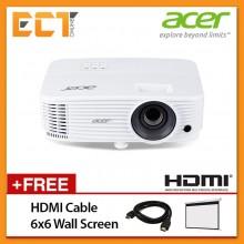 Acer Essential P1350WL WXGA (1280x800) 3700 Lumens Projector for Business
