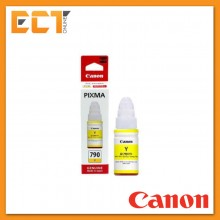 Canon Refill GI-790 Y Ink Efficient Printer Series Yellow Ink Bottle