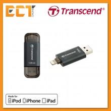 Transcend OTG 32GB JetDrive GO 300 for Apple iOS Lightning - Black/Silver/Red