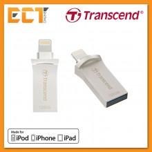 Transcend OTG 128GB JetDrive GO 500 for Apple iOS Lightning - Silver