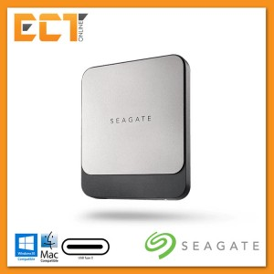 Seagate 1TB Fast SSD USB-C 540MB/s Portable Solid State Drive
