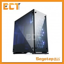 Segotep K7 RGB Full Tempered Glass ATX Gaming Casing Chassis (SG-K7)