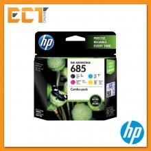 HP 685 Black/ Cyan/ Magenta/ Yellow Ink Cartridge
