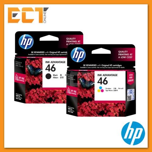 HP 46 Black/ Tri-color Ink Cartridge. 16% off