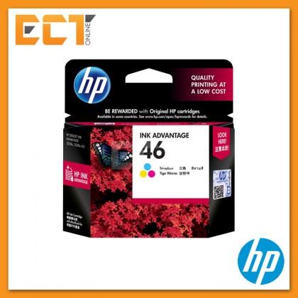 HP 46 Black/ Tri-color Ink Cartridge