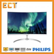 "Philips 278E8QJAW 27"" Full HD 4MS VA LED Curved Monitor"