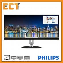 "Philips 298P4QJEB 29"" QHD 5MS AH-IPS LED Panoramic View Monitor"