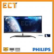 "Philips BDM3490UC 34.1"" WQHD 5MS AH-IPS LED Curved Monitor"