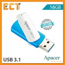 Apacer AH357 16GB/32GB/64GB USB 3.1 Gen 1 Flash Drive/Pendrive - Blue