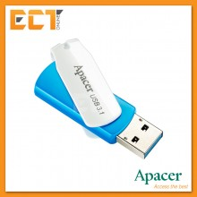 Apacer AH357 64GB USB 3.1 Gen 1 Flash Drive/Pendrive - Blue