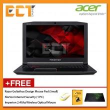 """Acer Predator Helios 300 PH317-52-75BK Gaming Laptop (i7-8750H 4.10GHz,1TB+256GB,8GB,GTX1060-6G,17.3"""" FHD,W10)"""