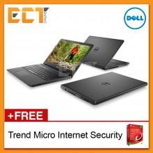 """Dell Inspiron 15-3567 Notebook (i7-7500U 3.50Ghz,256GB SSD,8GB,AMD R5 M430-2GB,15.6""""FHD,W10) - Black"""