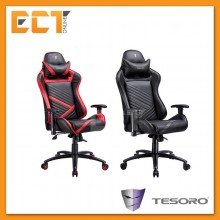(Ready Stock) Tesoro F700 Zone Speed Series Balance Gaming Chair - Black