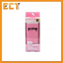 Remax Proda PPL-18 Ice-Cream 10000mAh Lithium Power Bank With LED Flash Light (Pink)