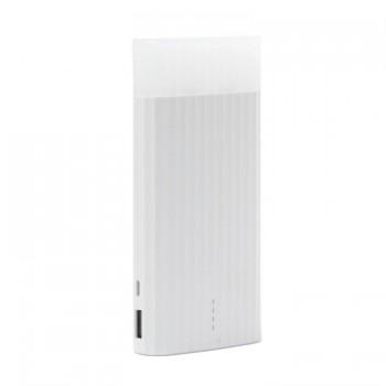 Remax Proda PPL-18 Ice-Cream 10000mAh Lithium Power Bank With LED Flash Light (White)