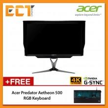 "(New Arrival) Acer Predator X27 27"" 4K UHD (3840x2160) 4MS 144Hz IPS LED Gaming Monitor (HDMI / DP 1.4 / Speaker)"