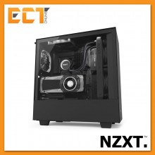 NZXT H500i Full Tempered Glass ATX Gaming Casing Chassis (Black/White/Red)