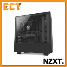 NZXT H500 Full Tempered Glass ATX Gaming Casing Chassis (Black/White/Red)