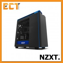 (2017) NZXT H440 Silence Optimized Premium ATX Mid Tower Gaming Case / Chassis - Red/Green/Blue