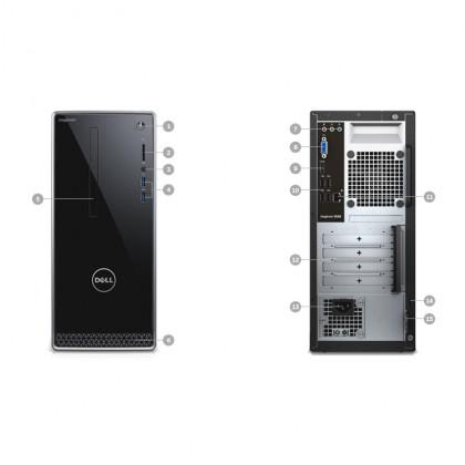 (Demo Set) Dell Inspiron 3650 Desktop PC Full Set (i5-6400,1TB,8GB,Nvidia GT730-2GB,W10)