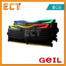 GeIL Super Luce RGB SYNC TUF Gaming Alliance 8GB (4GBx2) DDR4 2666MHz Gaming Desktop RAM (PC4-21300)