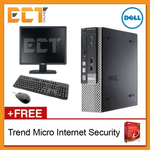 (Refurbished) Dell Optiplex 7010 SFF + Dell 19