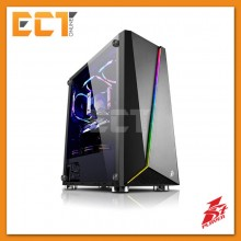 1STPLAYER Rainbow R7 Tempered Glass LED Strip ATX Gaming Casing / Chasis
