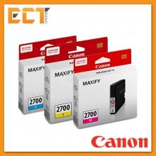 Canon Pigment Ink Tank PGI-2700C/M/Y Black Printer Ink Cartridge - Cyan/Magenta/Yellow