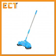 360 Degree Rotary Automation Hand Propelled Sweeper Magic Vacuum Cleaner Broom Mop (Color Option)