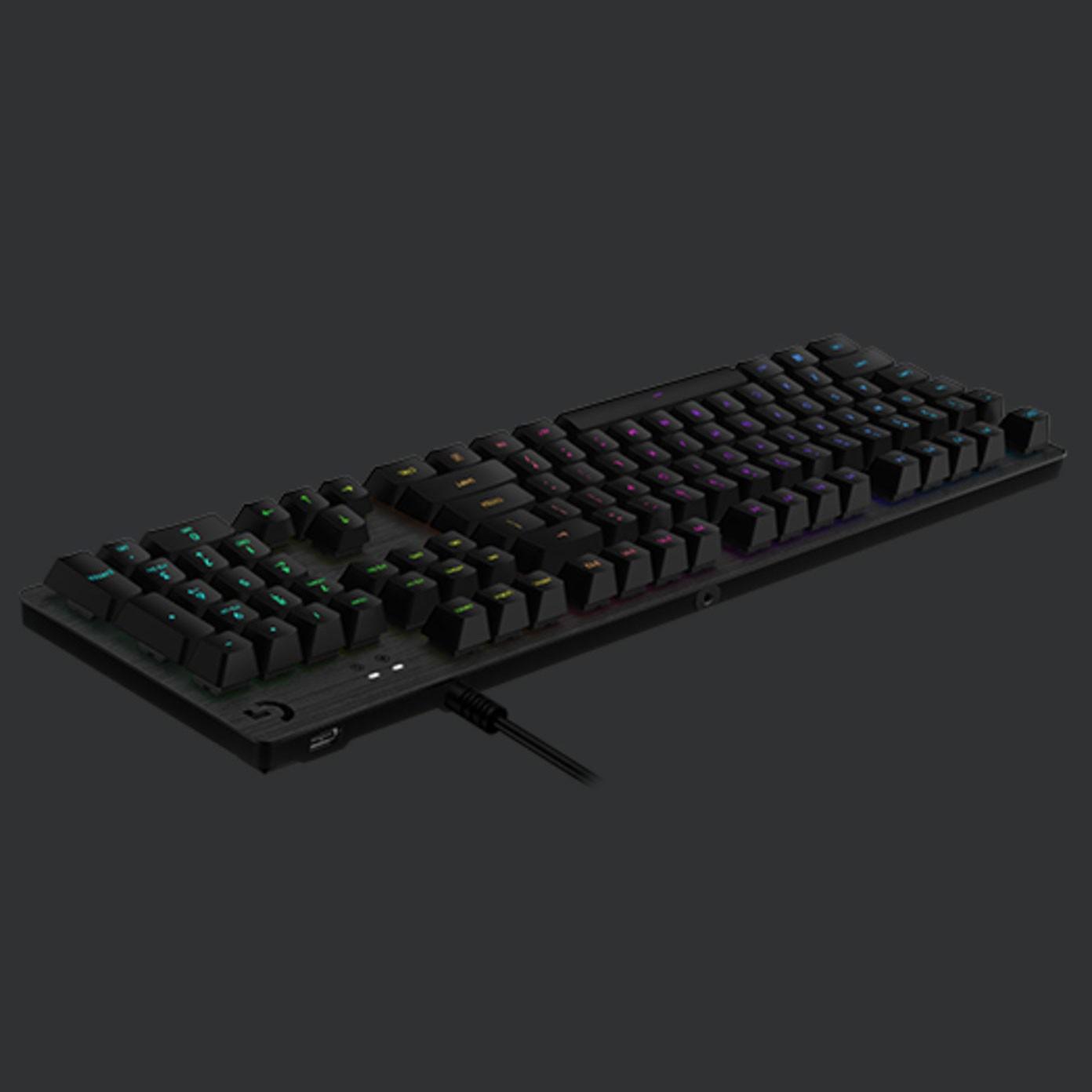Logitech G512 Carbon LIGHTSYNC RGB Mechanical Gaming Keyboard - Tactile