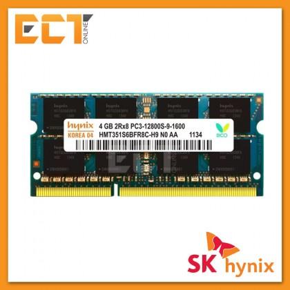 Hynix 4GB DDR3-12800S 1600Mhz Notebook Memory Ram