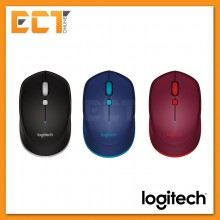 Logitech M337 Bluetooth Mouse - Black/Blue/Red