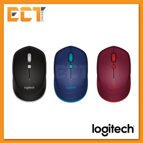 1f58837d442 Logitech M337 Bluetooth Mouse - Black/Blue/Red. 25% off