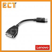 Lenovo Display Port DP to Single Link DVI-D Port Converter Adapter Cable (43N9160)