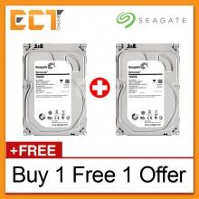 (Buy 1 Free 1) Seagate Barracuda Internal 1TB 3.5'' SATA 6GB/s 64MB Cache Desktop Hard Disk Drive - ST1000DM003