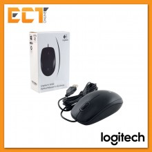 Logitech B100 800 DPI Optical USB Mouse (910-001439)