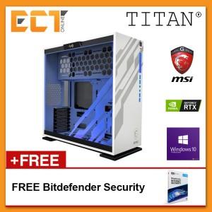 (2019 Latest) Titan S3 MSI Gaming Desktop PC (i7-8700,RTX2080-8G,250GB+1TB,16GB,W10P)