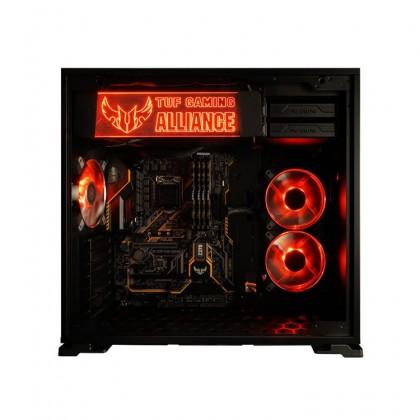 (2019 Latest) Titan S4 Asus TUF Gaming Desktop PC (i7-8700,RTX2080-8G,250GB+1TB,16GB,W10P)
