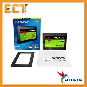 Adata SU650 240GB SATA III Solid State Drive SSD (Read:520MB/s, Write:450MB/s)