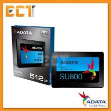 Adata SU800 512GB SATA III 6GB/s Solid State Drive SSD (Read:560MB/s, Write:520MB/s)