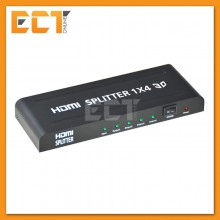 Full HD 1080p 4 port RoHS HDMI Splitter 1X4 HDMI 1.4 Video Audio (ARAND-010H)