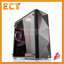 1STPLAYER FireRose F3 Tempered Glass Gaming Casing / Chasis