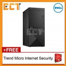 Dell Vostro 3670 MT Tower Business Desktop (i3-8100 3.60Ghz,1TB+128GB SSD,4GB,W10P)