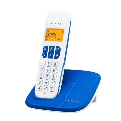 Alcatel Delta 180 Cordless Phone - Black / Blue