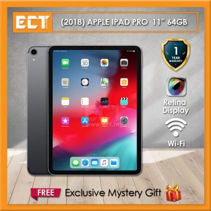 "(2018) Apple iPad Pro MTXN2ZP/A 64GB 11"" (A12X 2.50GHz,64GB,WiFi,11"") - Grey"