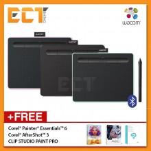 Wacom Intuos S CTL-4100WLK/WLE/WLP Small Pen & Bluetooth Tablet