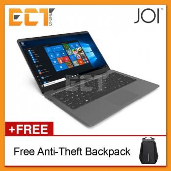 """JOI Book 150 14.1"""" FHD Laptop (N4100 2.40Ghz,128GB SSD+32GB,4GB,W10H) Grey/Gold"""