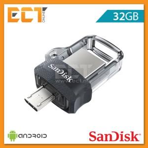 Sandisk Ultra Dual Drive OTG M3.0 32GB USB 3.0 Flash/Thumb Drive (SDDD3-032G-G46)