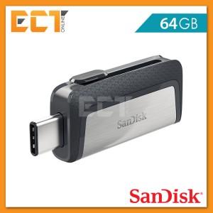 Sandisk Ultra Dual Drive OTG Type-C 64GB USB 3.0 Flash/Thumb Drive (SDDDC2-064G-G46)