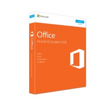 Genuine Microsoft Office Home and Student 2016 Retail Package with DVD (Word/Excel/PowerPoint/OneNote)